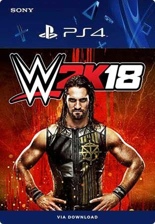 WWE 2K18 PS4 Mídia Digital