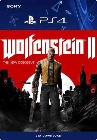 Wolfenstein II: The New Colossus Ps4 Mídia Digital