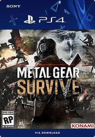 METAL GEAR SURVIVE PS4 MÍDIA DIGITAL