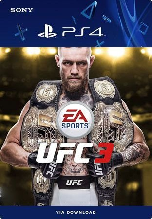 EA SPORTS UFC 3  DELUXE EDITION PS4 MÍDIA DIGITAL