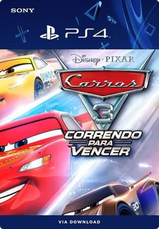 Cars 3 Ps4 Mídia Digital