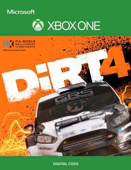 DiRT 4 Xbox One Mídia Digital