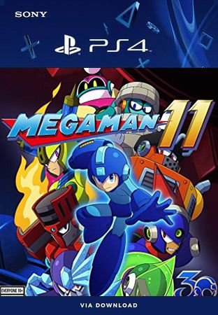 Mega Man 11 Ps4 Mídia Digital