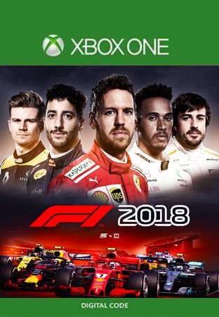 F1 2018 XBOX ONE MÍDIA DÍGITAL