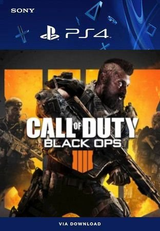 Call Of Duty Black Ops 4 Ps4 Mídia Digital
