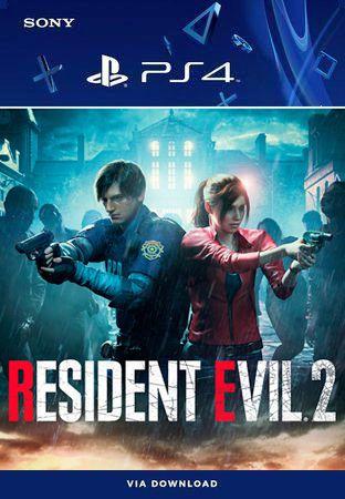 Resident Evil 2 PS4 Mídia Digital Primária Original
