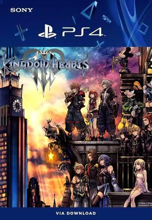 KINGDOM HEARTS III PS4 MÍDIA DIGITAL PRIMÁRIA ORIGINAL