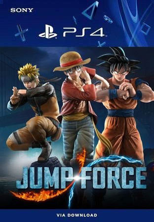 Jump Force Ps4 Mídia Digital