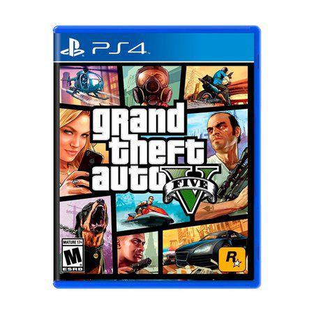 Gta 5 Grand Theft auto V Ps4 Mídia Física
