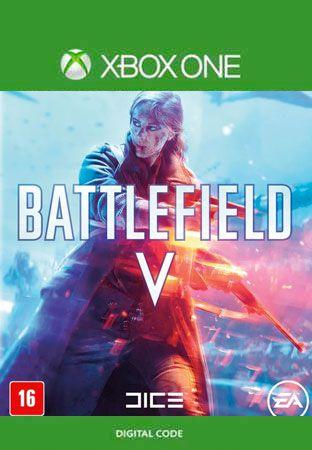 Battlefield V Xbox One Mídia Digital Código 25 Dígitos Original