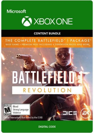 Battlefield 1 Revolution Xbox One Digital Código Original 25 Dígitos