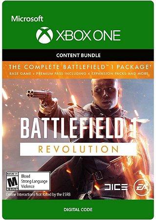 Battlefield 1 Revolution Xbox One Código Digital
