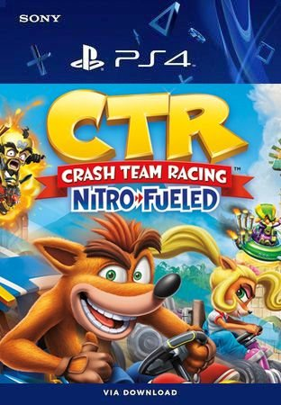 Crash Team Racing Nitro-Fueled Ps4 Mídia Digital