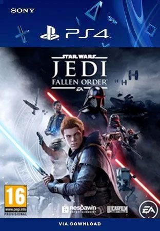 STAR WARS Jedi: Fallen Order Ps4 Mídia Digital