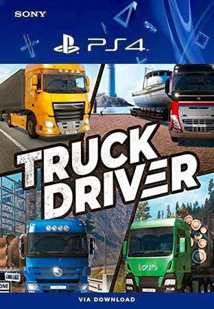 Truck Driver Ps4 Midia Digital