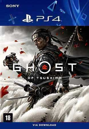 Ghost of Tsushima Ps4 Mídia Digital