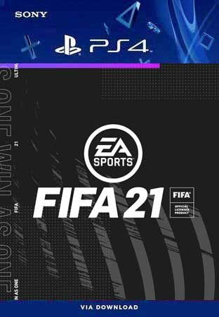 FIFA 21 PS4 Mídia Digital