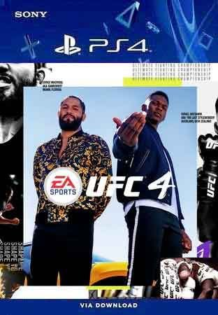 UFC  4 Ps4 Midia Figital