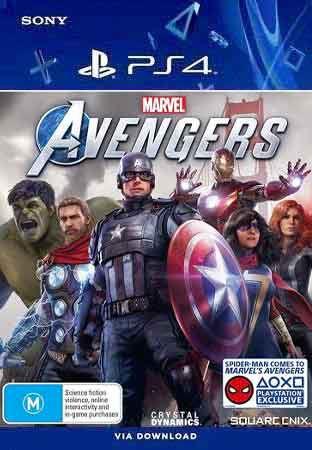 Marvel's Avengers Ps4 Midia Digital