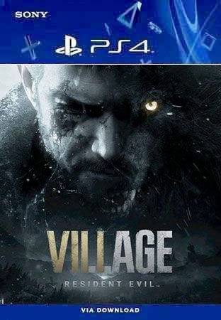 Resident Evil Village Ps4 Midia Digital