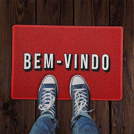 Capacho 60x40 - Netflix  BEM VINDO