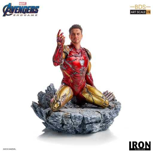 I am Iron Man - Avengers: End Game - Bds Art Scale 1/10 - Iron Studios
