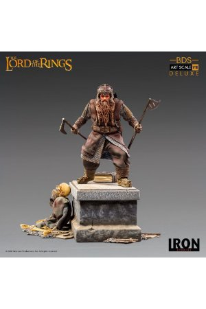Gimli Deluxe - Lord of the Rings - Art Scale 1/10 - Iron Studios