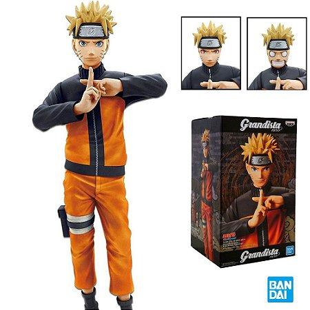 Naruto Shippuden - Uzumaki Naruto - Grandista Nero - Bandai Banpresto