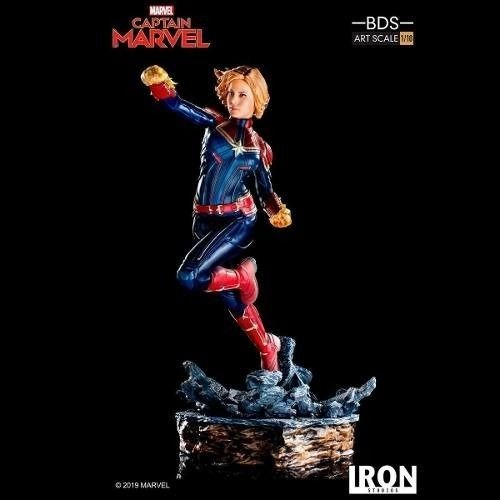 Capitã Marvel Bds Art Scale 1/10 - Iron Studios