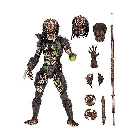 Predador (Predator): Predator 2 (Predator 2) - City Hunter (Battle Damaged) Escala 1/18 Exclusive - Neca