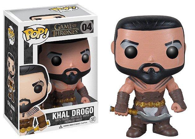 Funko POP Khal Drogo 04 Game of Thrones