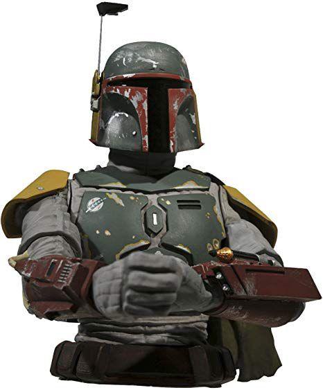 Boba Fett Bust Bank - Star Wars Cofre - Diamond Select Toys