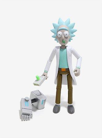 Funko Rick and Morty - Rick Boneco Articulado 13cm