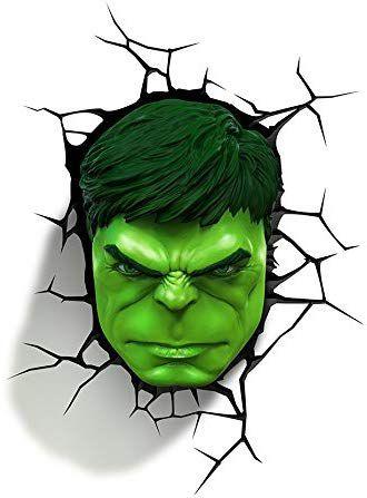 Luminária- Hulk