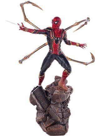 Iron Spider-man- Homem aranha de ferro 1/10 Bds Avengers Infinity War Iron Studios