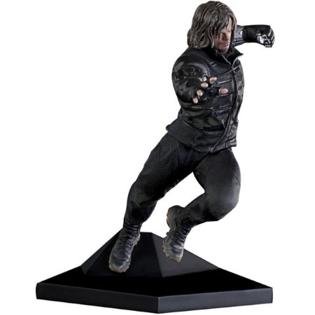 Civil War- Winter Soldier- Soldado Invernal - 1/10 Art Scale Iron Studios
