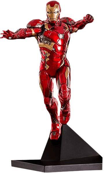 Iron Man- Homem de Ferro 1/10 Guerra Civil - Iron Studios
