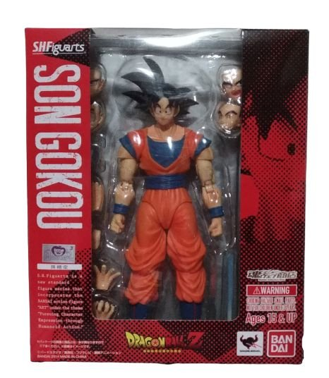 SHF - Dragon Ball Z - Son Goku - SHFiguarts