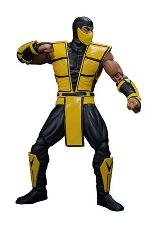 MORTAL KOMBAT 3 SCORPION STORM COLLECTIBLES 1/12 SCALE ACTION FIGURE