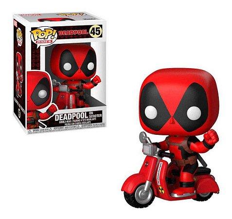 Funko Pop! Deadpool - Deadpool Com Scooter #48