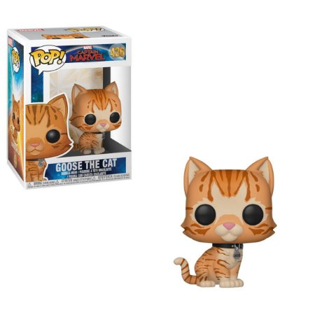 Funko Pop! Goose (the Cat): Capitã Marvel (Captain Marvel) #426