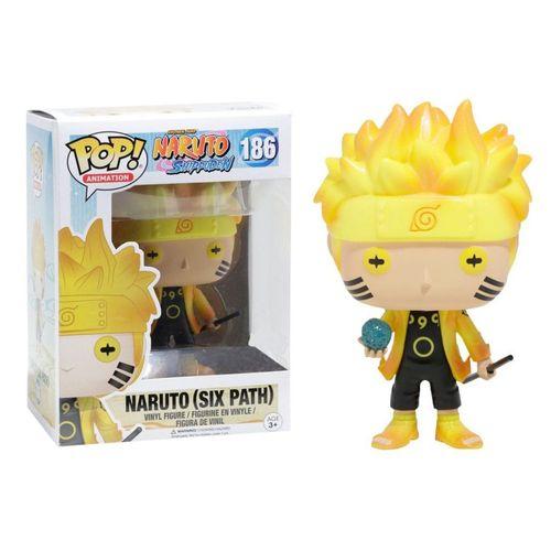 Funko Pop! Naruto: Shippuden - Naruto(six path) Seis caminhos #186