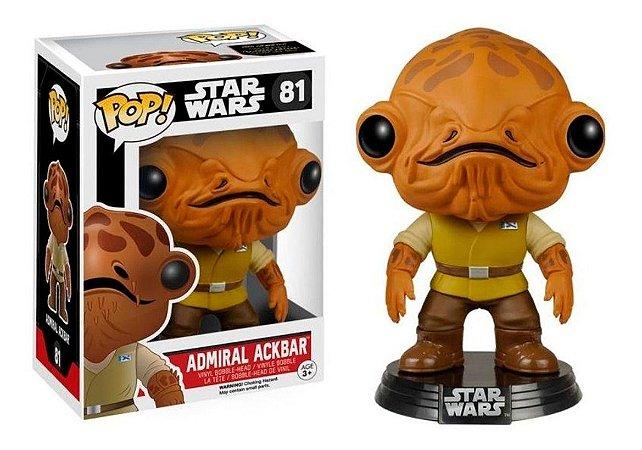Funko POP! Admiral Ackbar - Star Wars VII   #81