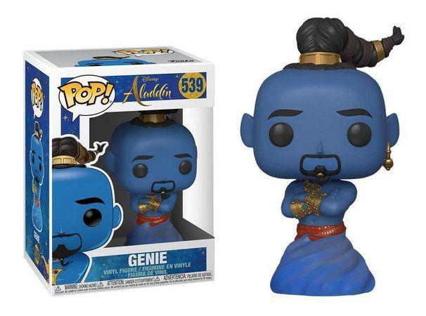 Funko POP! Aladdin- Gênio/Genie da Lâmpada (Will Smith)  #539