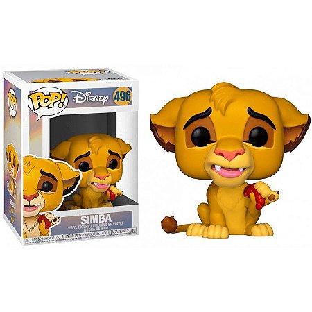 Funko POP! O Rei Leão - Simba #496
