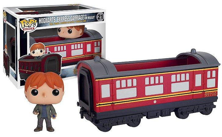 Funko Pop! Rides- Harry Potter Hogwarts Express- Ron Weasley #21