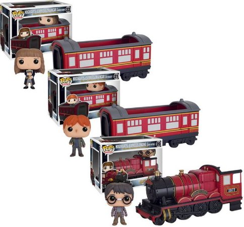 Funko Pop! Harry Potter - Hogwarts Express  (Coleção)