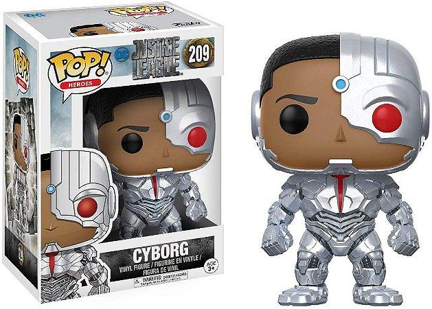 Funko POP! Cyborg - Liga Da Justiça #209
