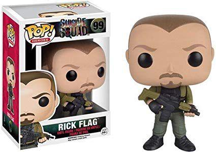 Funko Pop! - Suicid Squad ( Esquadrão Suicida ) - Rick Flag #99