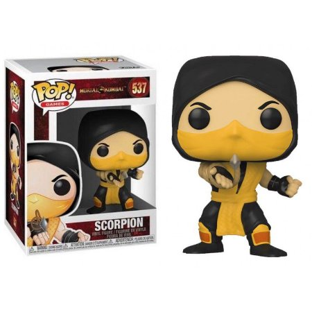 Funko Pop! Mortal Kombat- Scorpion  #537